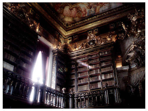 Oh, if only your library looked like this...